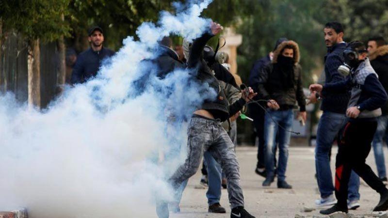 إصابة عشرات الفلسطينيين في مواجهات مع الاحتلال في سلفيت