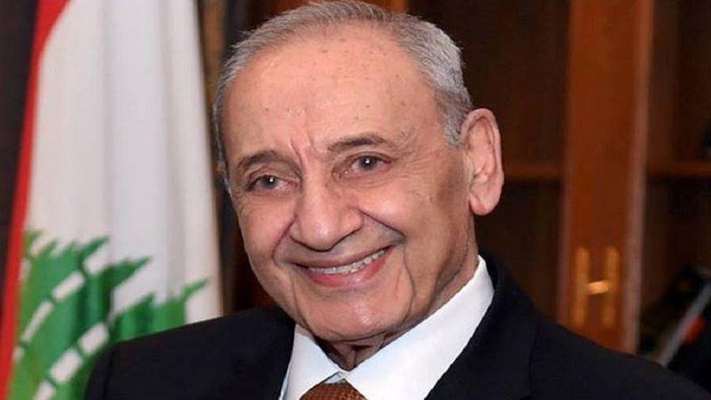 الرئيس بري: لتشكيل حكومة إنقاذ تمنع انزلاق لبنان نحو إنهيار أكبر