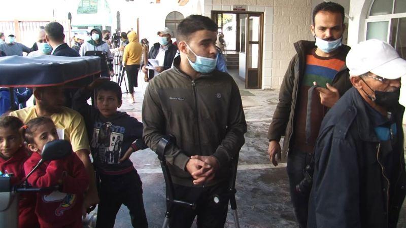معاناة ذوي الاعاقة في غزة في ظل استمرار الحصار