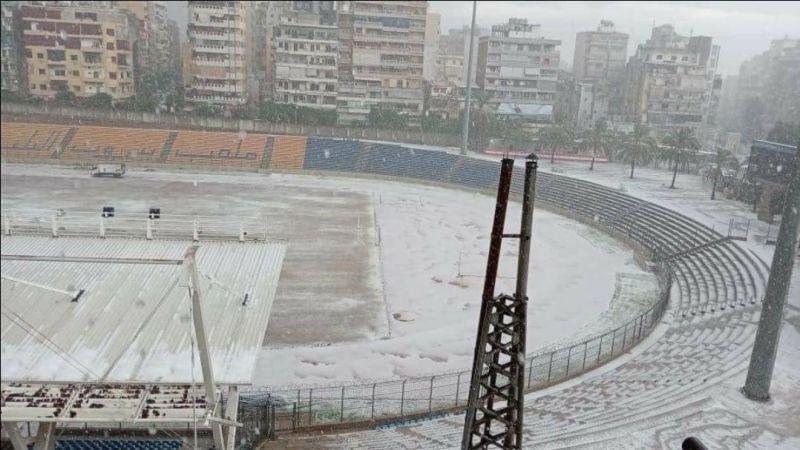 بالفيديو: الثلوج تغزو بيروت