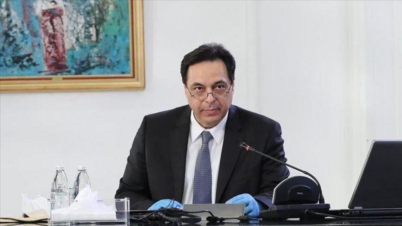 دياب: نعمل للتوصل إلى رؤية لحل أزمة الدعم بالتعاون مع مصرف لبنان واللجان النيابية