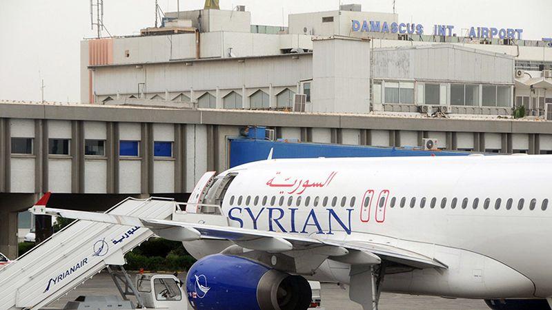 بعد أربع سنوات.. طائرة من الرياض تحطّ في دمشق