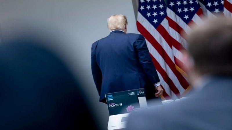 تخوّف داخل المؤسسة العسكرية من اقدام ترامب على تعطيل انتقال السلطة