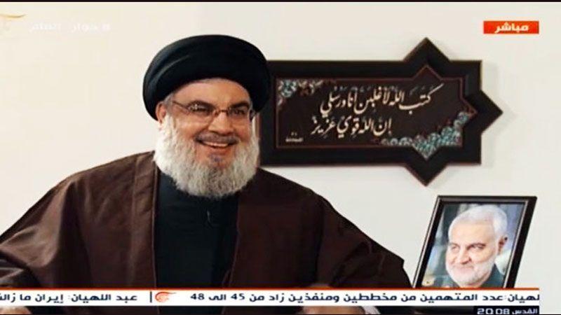 السيد نصر الله: أنا فهمي أنّ السعودية لا تتصرف بعقل وإنّما تتصرف بحقد