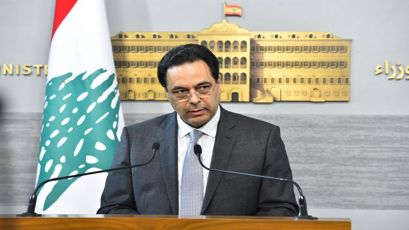 الرئيس دياب: إذا كان لدى القاضي صوان أي شيء ضدي فليرسله إلى المجلس النيابي