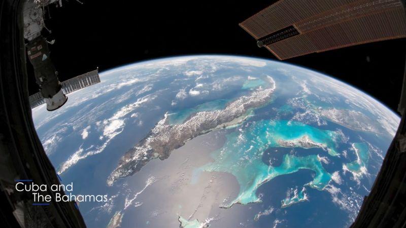 فيديو من الفضاء لأفضل صور الأرض في 2020