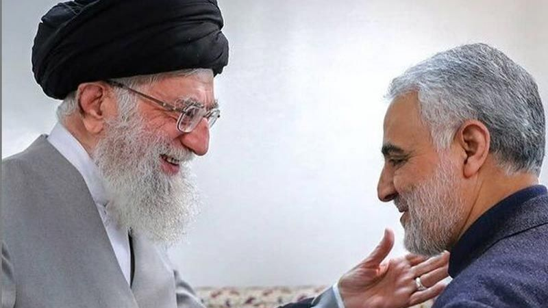 الإمام الخامنئي: سليماني رجل الميدان وبطل إيران