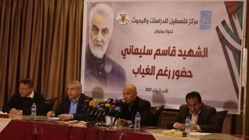 سياسيون فلسطينيون: شهادة سليماني خسارة لفلسطين ومقاومتها