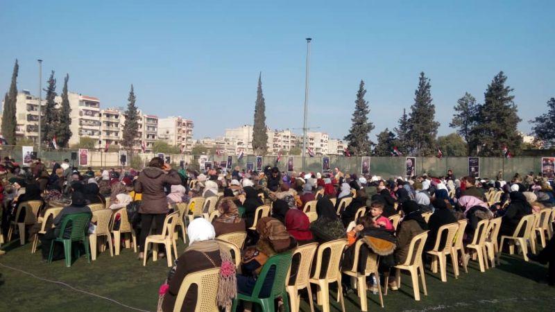 محافظة حماة السورية تحتفي بالشهيد قاسم سليماني