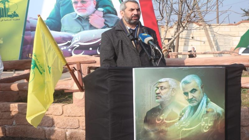 """النائب حمادة: من انتصر على """"داعش"""" سينتصر على كل المشاريع الصهيواميركية"""