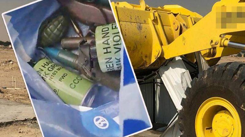 أمن الكويت: العثور على ذخائر ومتفجرات قرب قاعدة السالم الجوية