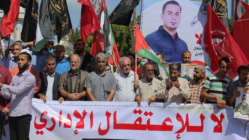 فلسطين المحتلة: 1100 قرار اعتقال إداري للإحتلال خلال 2020