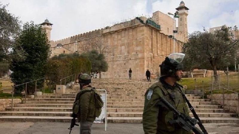 الحرم الابراهيمي مُقفل أمام المصلّين الفلسطينيين