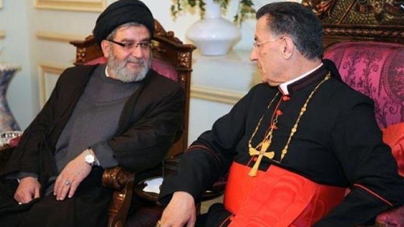 باسم السيد نصر الله.. رئيس المجلس السياسي في حزب الله يتصل بالبطريرك الراعي مُعزيًا بوفاة شقيقه