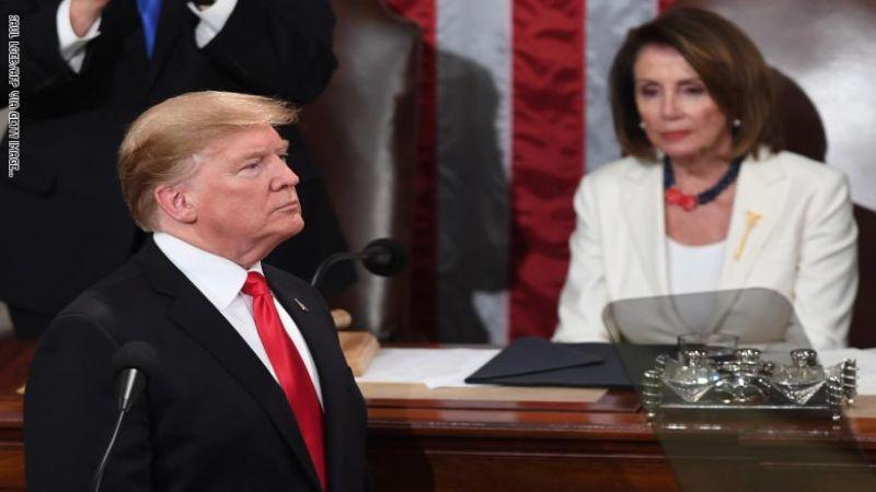 رئيسة مجلس النواب الأميركي أصدرت تعليماتها للمضي في إجراءات مساءلة ترامب