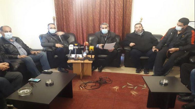 النائب حمادة: معبر حربتا يؤثر سلبا على معيشة مواطنين في ثلث لبنان ومؤشراته خطيرة