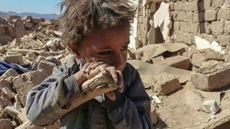 حقوق الإنسان في صنعاء : العدوان على اليمن دمر آلاف البيوت والمنشآت