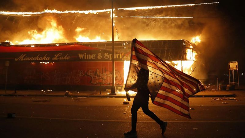 الولايات المتحدة قادمة على مزيد من العنف