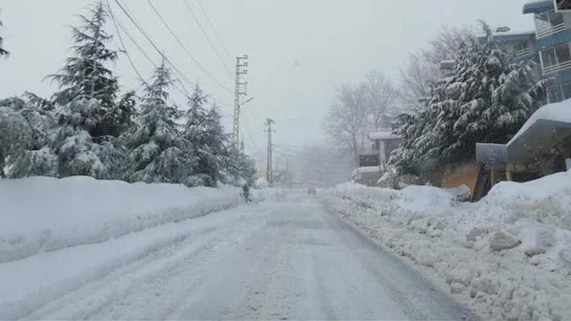 لبنان أمام منخفض جوي عاصف .. برَد وثلوج ورياح وفيضانات!