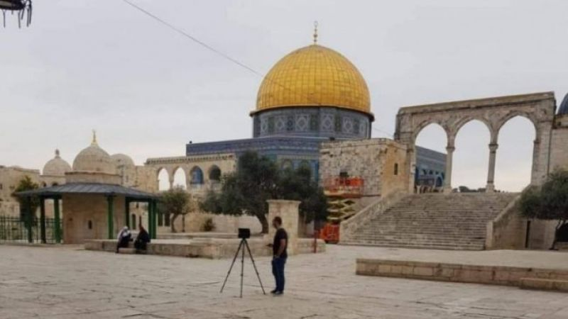 ماذا يفعل مسّاحون صهاينة في المسجد الأقصى؟