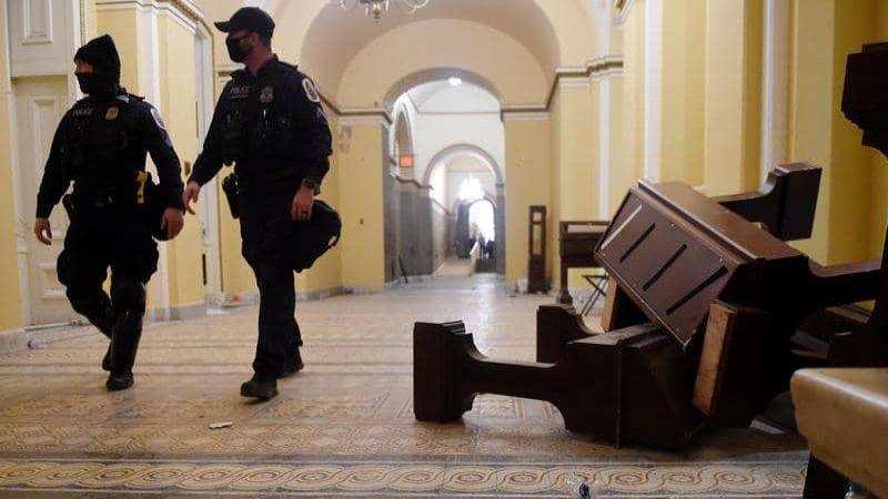 """واشنطن بوست"": فشل استخباراتي سبق اقتحام الكونغرس"