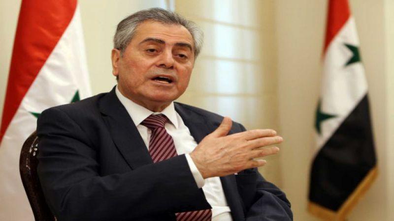 """مشروع لـ""""خنق"""" سوريا.. والسفير السوري لـ""""العهد"""": الحقائق تفرض على بايدن إعادة النظر"""