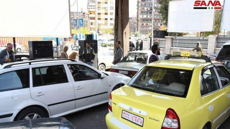 المشتقات النفطية تستأنف طريقها الى المحافظات السورية