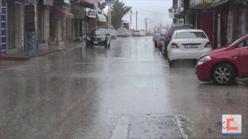 البقاع الغربي: الطقس العاصف يساعد على بقاء الناس في منازلهم