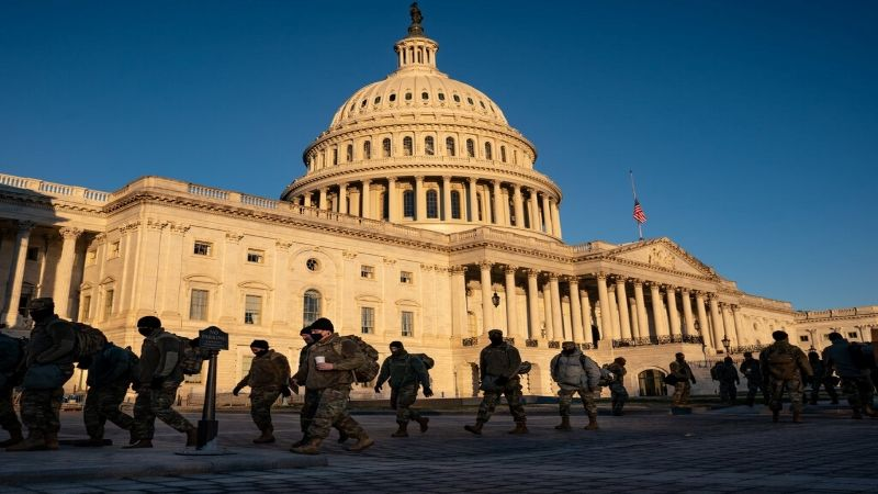 واشنطن تتحوّل الى ثكنة عسكرية لتأمين تنصيب بايدن