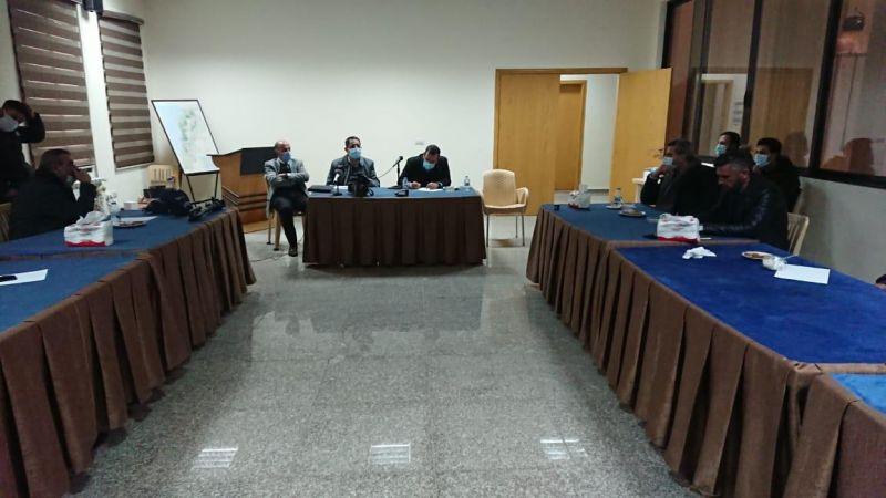 الصفيرة ومحطة تكرير اليمونة في اجتماع بلديات غربي بعلبك والنائب الحاج حسن