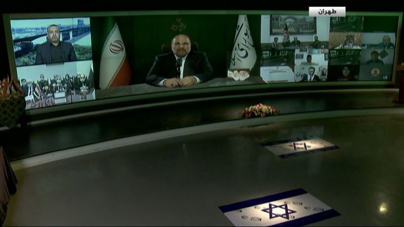 """""""القدس تجمعنا"""".. من إيران الى فلسطين"""