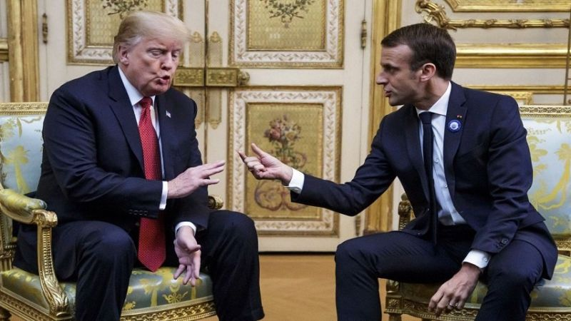 التملق الفرنسي والقاذفات الأميركية: هباء منثور