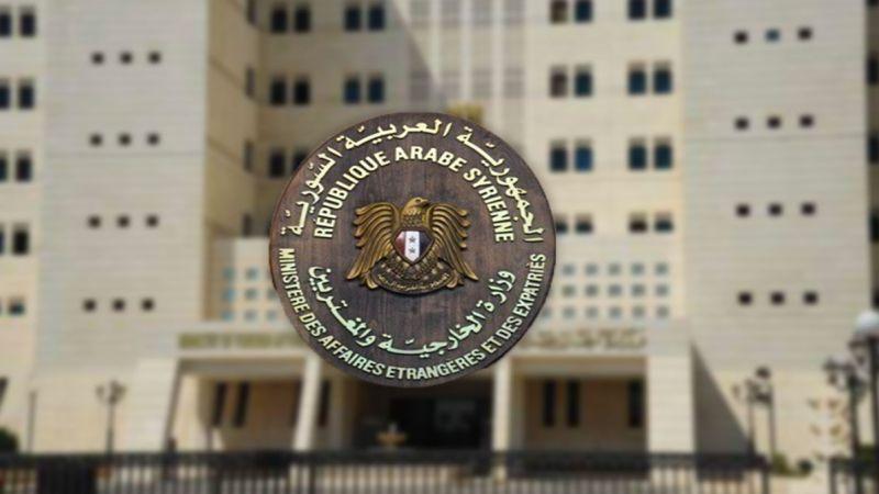 سوريا: سياستنا ثابتة تجاه القضية الفلسطينية وتحرير الجولان المحتلّ