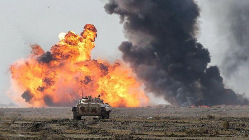 """الجيش الإيراني يُطلق مناورات اقتدار """"99"""" البرية"""