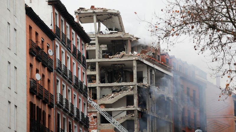 إنفجار عنيف يهزّ العاصمة الإسبانية