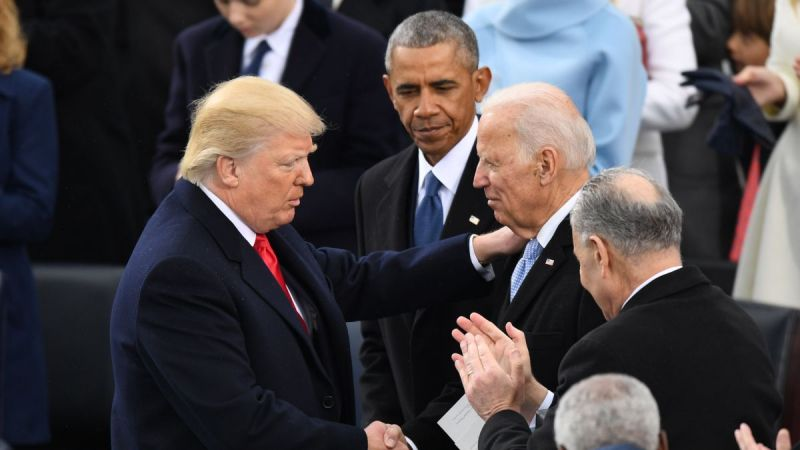 بعد تصعيده الفاشل.. ترامب يغادر وبايدن يتسلم رسميًا منصبه اليوم