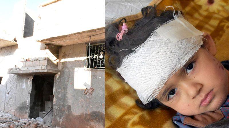 العدوان الصهيوني على حماه: 4 شهداء و4 جرحى ومنازل مدمّرة