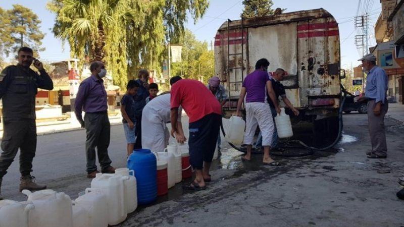 الاحتلال التركي يواصل جرائمه ويقطع مياه الشرب لليوم السابع عن مليون نسمة في الحسكة
