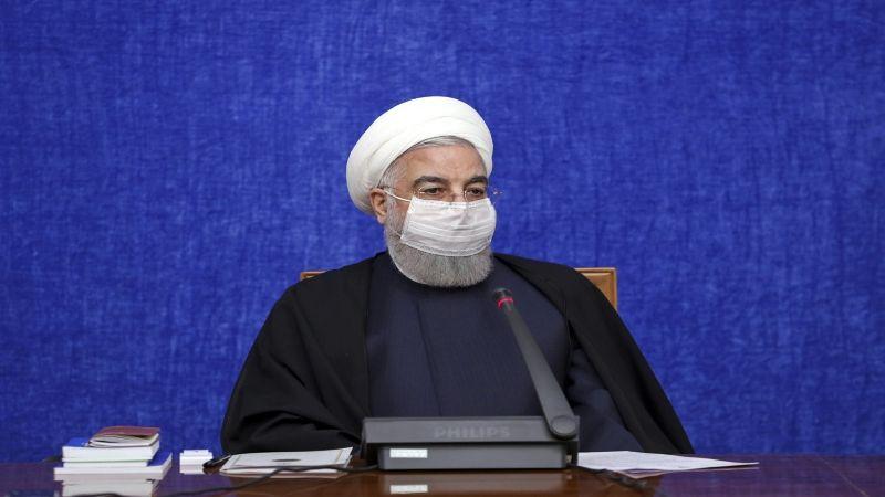 """روحاني: التطعيم ضد """"كورونا"""" سيبدأ الشهر المُقبل"""