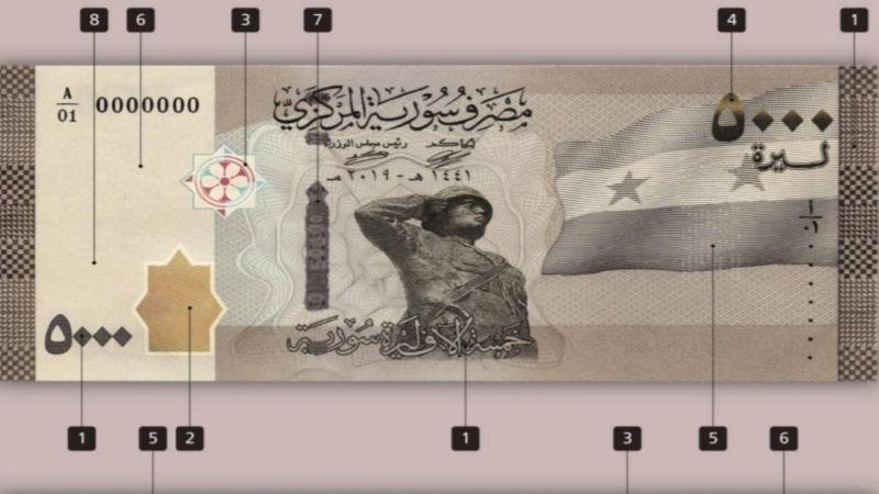 طرح ورقة الخمسة آلاف في سوريا.. هل سيؤدي لتضخّم العملة؟