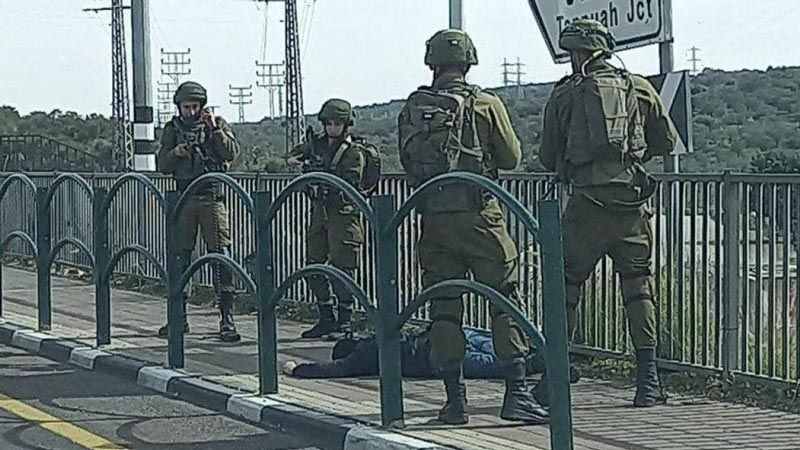قوات الإحتلال تُعدم شابا فلسطينيا قرب سلفيت
