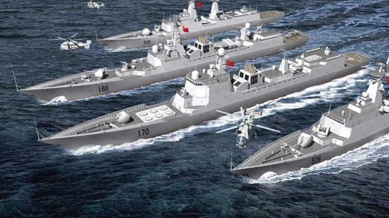 تدريباتٌ عسكريةٌ صينية ردًا على دخول أمريكا بحر الصين الجنوبي