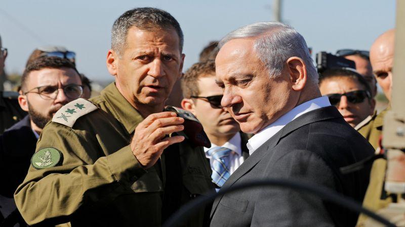 انتقادات اسرائيلية لمواقف رئيس أركان جيش العدو