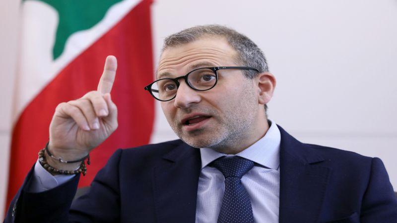 باسيل يُطالب القضاء اللبناني مواكبة نظيره السويسري: تحريك الشارع لن يحمي المنظومة الفاسدة