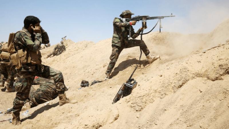 """العراق: الحشد الشعبي يدمّر مقر قيادة """"داعش"""" في الأنبار"""