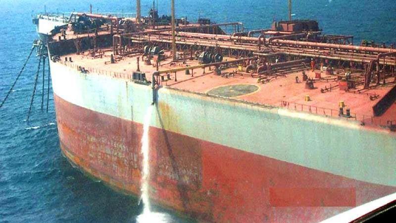 """رغم خطورة تسريبها.. صيانة الناقلة النفطية """"صافر"""" الى آذار!"""