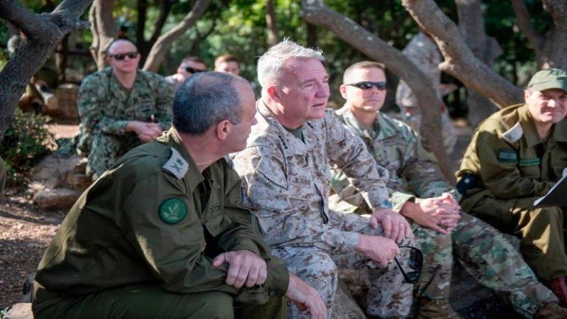 قائد القيادة المركزية الأميركية يصل الى الأراضي المحتلة