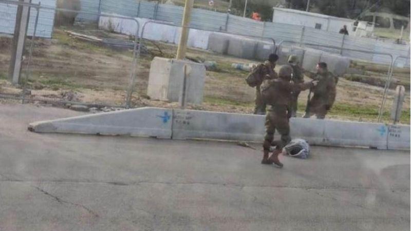 شاهد.. استشهاد فلسطيني برصاص الاحتلال جنوب بيت لحم