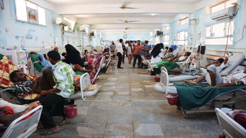 تفشّ غير مسبوق للأمراض والأوبئة في اليمن جراء العدوان