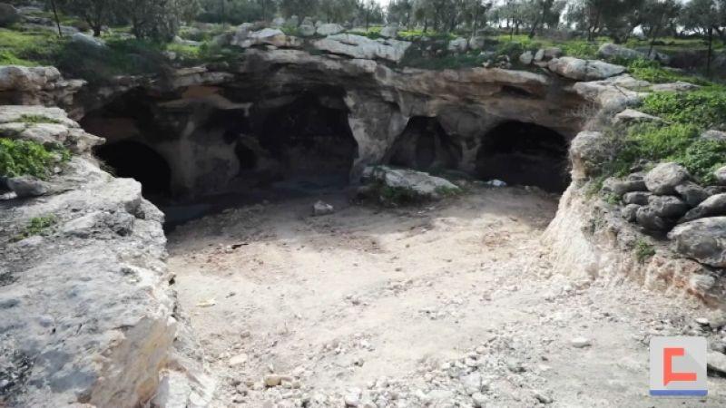 """كهف """"طور بدو"""".. إرث فلسطيني تاريخي وأثري يعود لـ 2500 سنة"""
